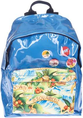 DSQUARED2 Exotic Print Backpack
