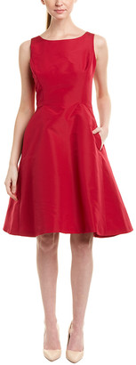 Oscar de la Renta Silk-Lined A-Line Dress
