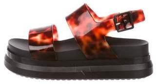 Melissa Rubber Platform Sandals