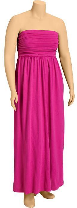 Old Navy Women's Plus Jersey-Tube Maxi Dresses