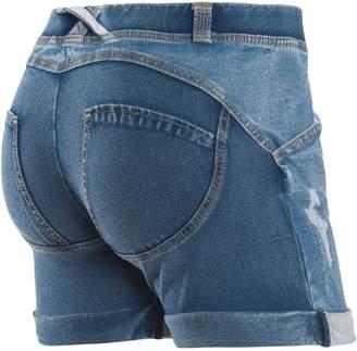 Freddy WR.UP® Distressed Denim Shorts - (, S)