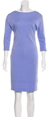 Les Copains Long Sleeve Knee-Length Dress