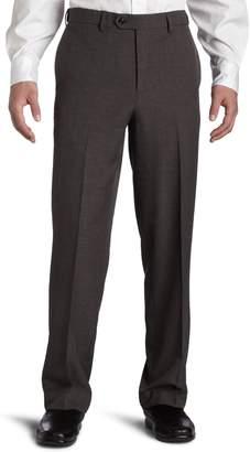 Savane Men's Striated Herringbone Dress Pant