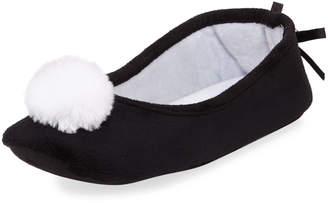 Patricia Green Pompom Fleece Slipper