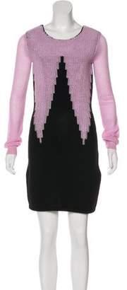 Sonia Rykiel Wool Sweater Dress