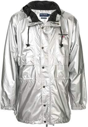 Ralph Lauren P-Wing metallic raincoat