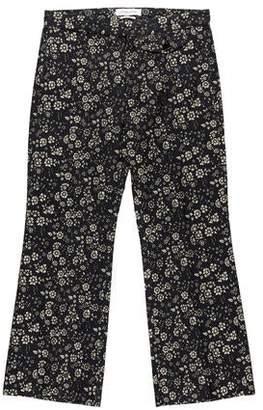 Etoile Isabel Marant Floral Print Cropped Pants