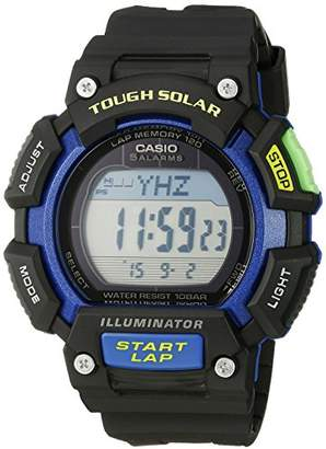 Casio Men's STL-S110H-1BCF Tough Solar Runner Digital Watch