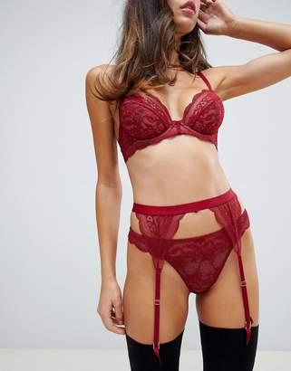 Roxy Asos Design ASOS DESIGN lace suspender belt