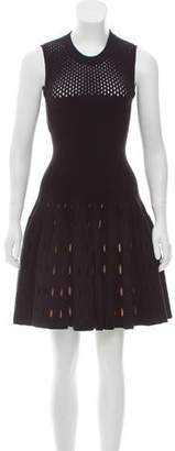 Alaia Wool-Blend Fit and Flare Dress w/ Tags