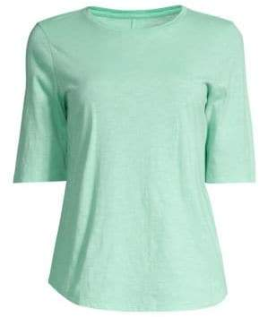 Eileen Fisher Elbow Sleeve T-Shirt