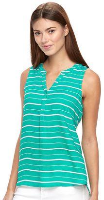 Women's Apt. 9® Sleeveless Popover Top $30 thestylecure.com