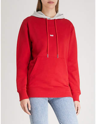 Helmut Lang Taxi cotton-jersey hoody