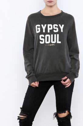 SPIRITUAL GANGSTER Pullover Raglan Sweatshirt $92 thestylecure.com