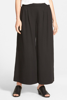 Eileen Fisher Wide Leg Ankle Pant $198 thestylecure.com