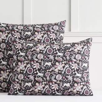 Pottery Barn Teen Liberty London Mythical Forest Reversible Sham, Standard, Multi