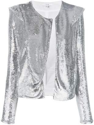 IRO Waklyn mirrored jacket