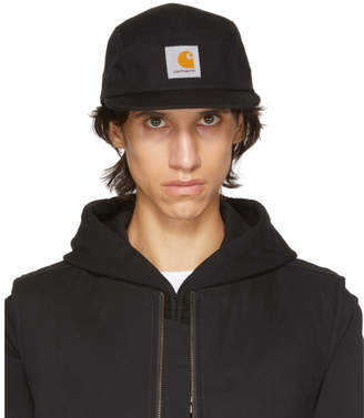 Carhartt Work In Progress Black Backley Five-Panel Cap