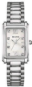 Bulova Women's Stainless Steel Mother-of-PearlBracelet Watch