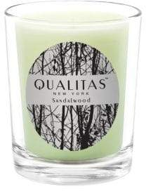 Qualitas Candles Sandalwood Candle/ 6.5 oz.