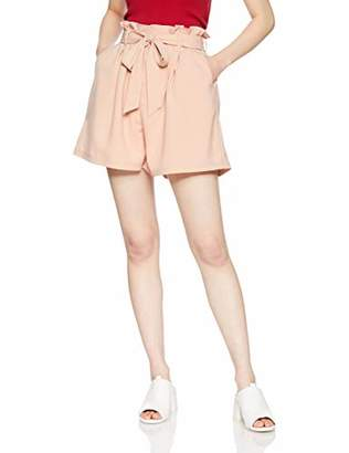 dazzlin (ダズリン) - [ダズリン] パンツ 【S】ウエストフリルショートパンツ 021920700301 オフホワイト 日本 S (日本サイズS相当)