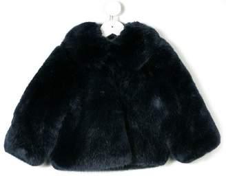 Hucklebones London faux fur jacket