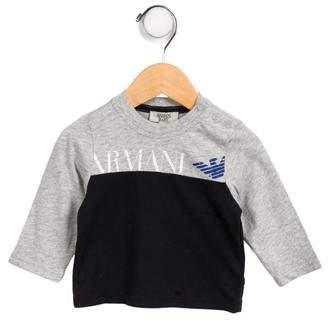 Giorgio Armani Baby Boys' Long Sleeve T-Shirt