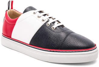 Thom Browne Pebble Grain Color Blocked Trainers