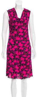 Nina Ricci Floral Print Mini Dress