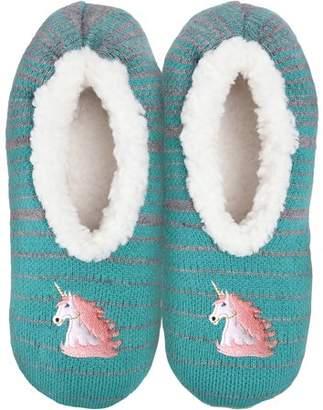 K. Bell Women's Novelty Slippers-unicorn