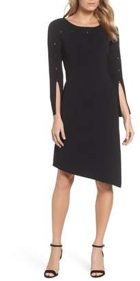 Nic+Zoe Studded Asymmetrical Dress