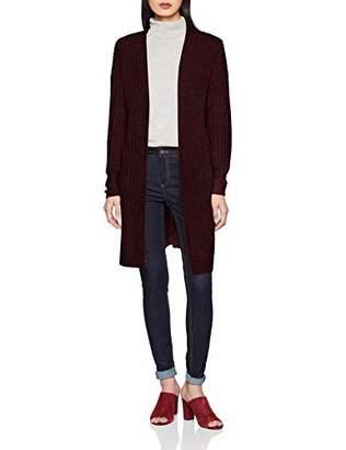 Pieces Women's Pcsanni Ls Wool Knit Cardigan Noos Light Grey Melange, (Size: )
