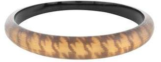 Alexis Bittar Printed Skinny Tapered Bangle
