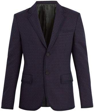 Gucci Cambridge cotton and wool-blend jacket