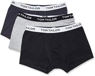 Tom Tailor Men's Hip Pants 3er Pack No Y-Front Trunk - Grey