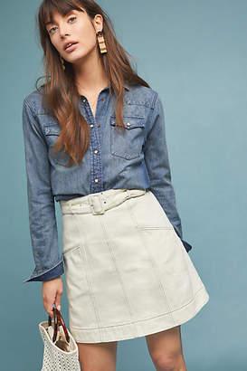 Chloé RYDER Denim Mini Skirt