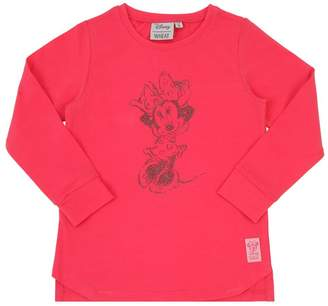 Wheat Glitter Organic Cotton Jersey T-Shirt