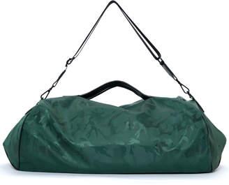 Transience Camo Zip-Top Gym Duffel Bag