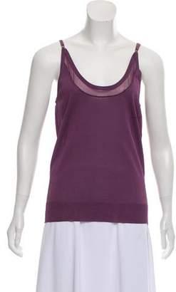 Nina Ricci Sleeveless Knit Top w/ Tags