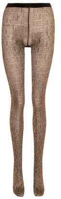 Fendi Metallic tights