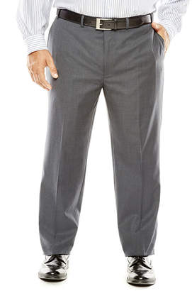 COLLECTION Collection by Michael Strahan Gray Weave Suit Pants - Big & Tall