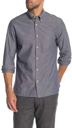 Brooks Brothers Chambray Front Button Regular Fit Shirt