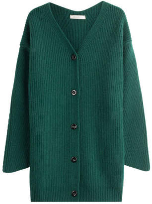 Nina Ricci Wool Cardigan with Angora