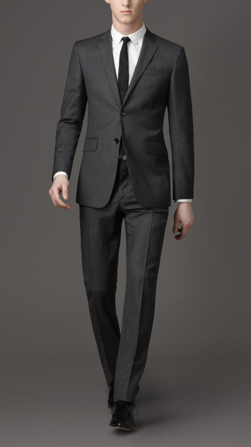 Burberry Modern Fit Prince Of Wales Check Suit