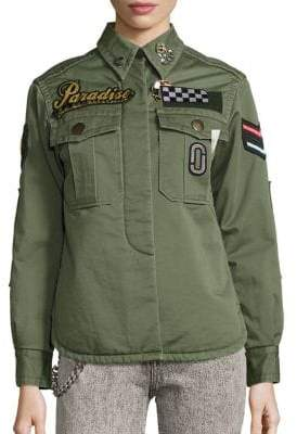 Marc Jacobs Embellished Military Shirt