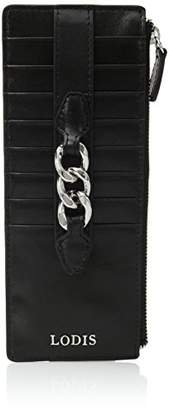 Lodis Rodeo Chain Credit Card Case with Zipper Pocket