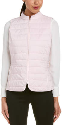 Lafayette 148 New York Quilted Vest