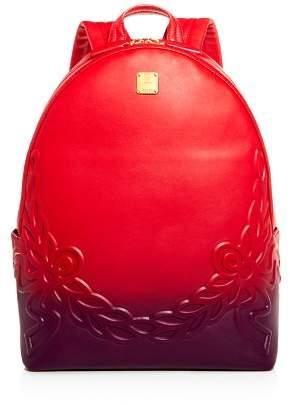 MCM Degrade Laurel Ombré Leather Backpack
