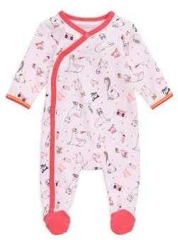 Little Marc Jacobs Baby Girl's Printed Footie