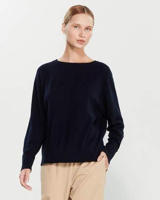 Liviana Conti Wool-Blend Raglan Sweater